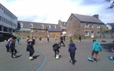 Foot à l'école